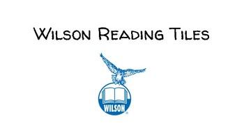 Fundations/Wilson Reading Tiles