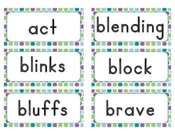 Word of the Day Cards - Grade 1 (traditional font)