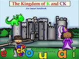 K and CK Orton Gillingham  SMART Board Lesson Activities