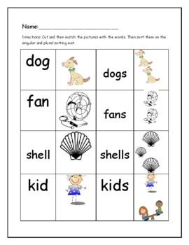 Phonics level 1 unit 6 resource: suffix -s and trick words *updated*
