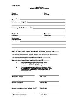 Fundraiser application