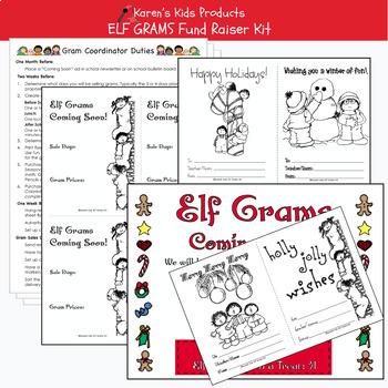 Fundraising Kit ELF GRAMS KIT