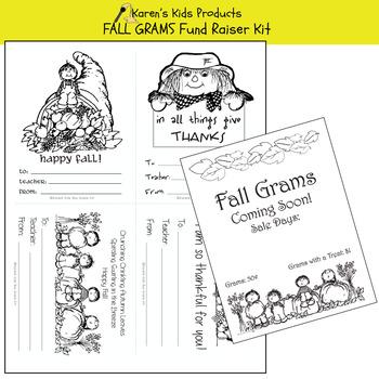 Fundraising Kit FALL GRAMS KIT