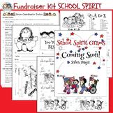 Fundraising Kit SCHOOL SPIRIT GRAMS KIT (Karen's Kids Editable Printables)