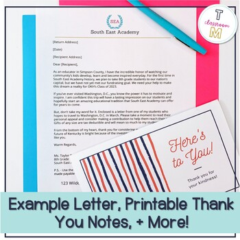 Fundraising Letter: An Authentic Persuasive Writing Unit