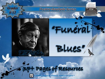 Funeral Blues by W.H. Auden Poem Analysis