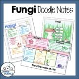 Fungi Doodle Notes