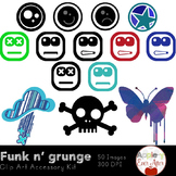 Funk n' Grunge Accessory Clipart Package