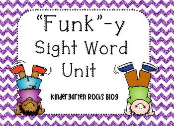 """""""Funk""""-y Sight Word Unit"""
