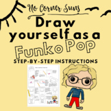 Funko Pop! Step-by-Step Drawing Directions. Great for Dist