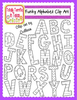 Funky Alphabet Bundle