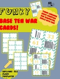Funky Base Ten War Card Game