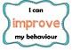 Funky Behaviour Management Chart