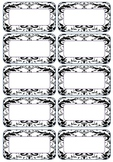 Funky Bright labels
