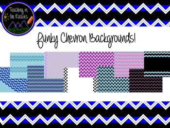 Funky Chevron Backgrounds