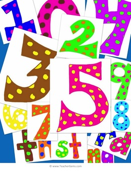 Numbers Clipart