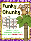 Funky Chunky: Reading Real and Non-Sense Short Vowel Words with Chunky Monkey