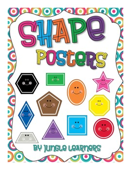 Shape Posters: Funky Circles