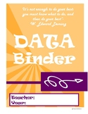 Funky Data Binder Cover