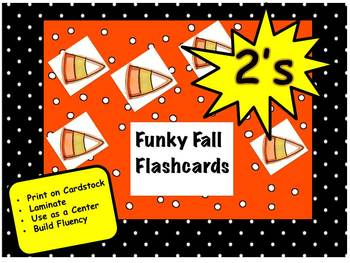 Funky Fall Flashcards