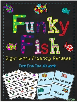 Reading Fluency Phrases from Fry's First 100 Words
