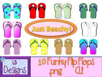 Funky Flip Flops