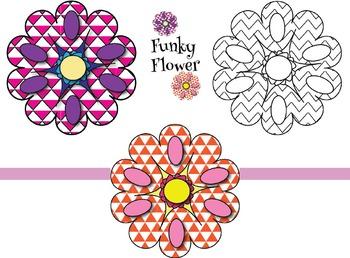 Funky Flower {Freebie}