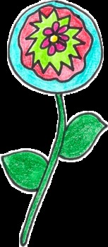 Funky Flower Clipart