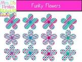 Funky Flowers FREEBIE