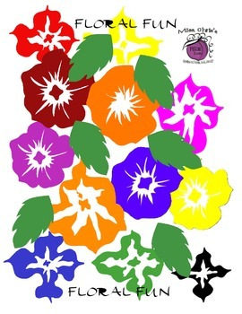 Funky Flowers Make your products POP with these bright flowers