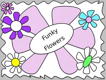 Funky Flowers PowerPoint Template