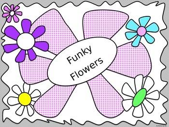 Funky Flowers PowerPoint Template