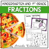 Fractions Unit: Activities for Whole, Halves, Thirds, and Fourths