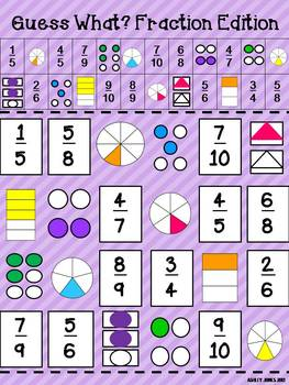 Funky Fractions {7 Fraction Centers}