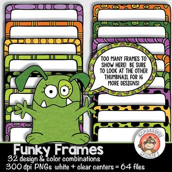 Funky Frames and Borders