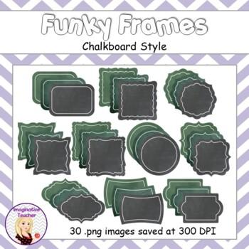 Funky Frames - Chalkboard