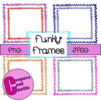 Funky Frames (Clip Art)