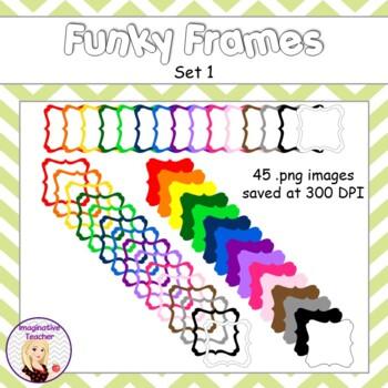 Funky Frames Set 1