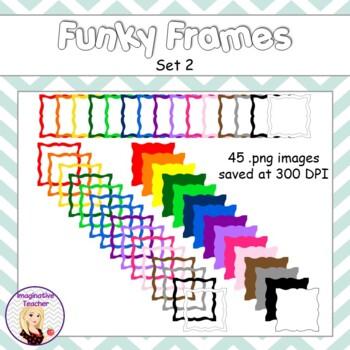 Funky Frames Set 2