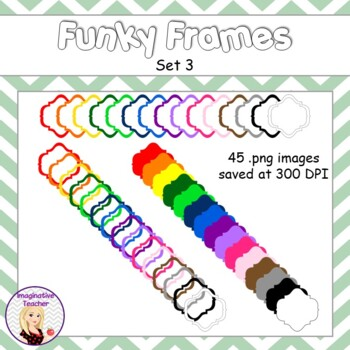 Funky Frames Set 3