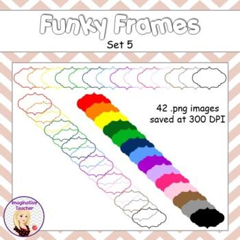 Funky Frames Set 5
