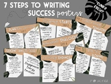 "Funky Fresh ""7 Steps to Writing Success"" Posters"