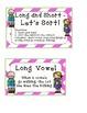 Funky Fun Vowel Games