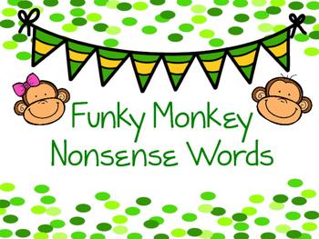 Funky Monkey Nonsense Words