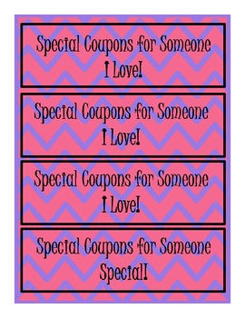 Funky Mother's Day Coupon Book