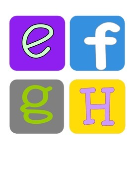Funky New Technology Theme Word Wall *Easy to Use*