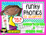 Funky Phonics: 2nd Grade Homework {1st quarter}