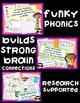 Funky Phonics: First Grade Homework Bundle {1st-4th Quarter}
