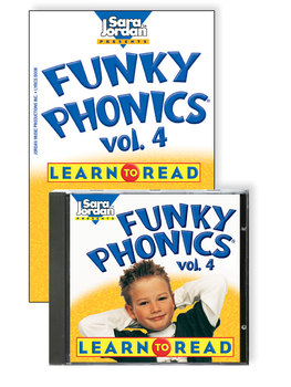 Funky Phonics®: Learn to Read, vol. 4, Digital Download