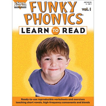 Funky Phonics ®: Learn to Read, vol. 1